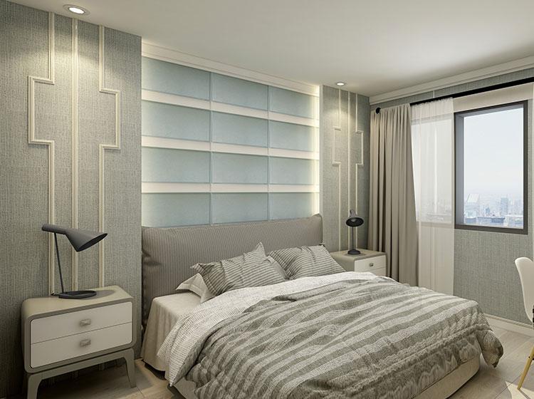卧室全屋整装北欧风格案例