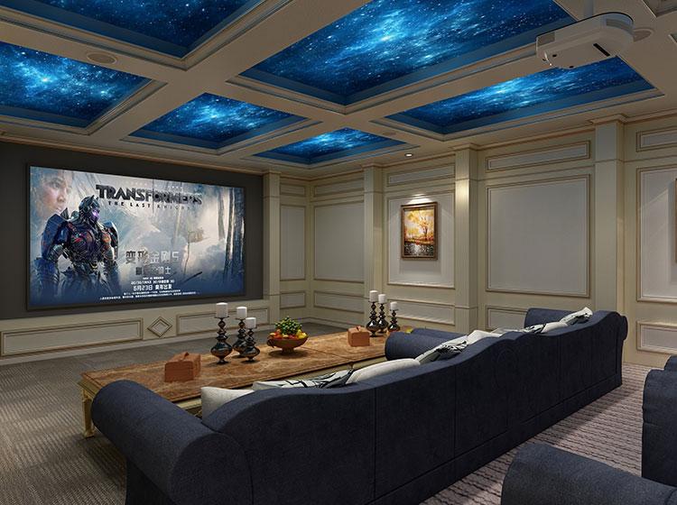 电影院皮墙整装工程案例