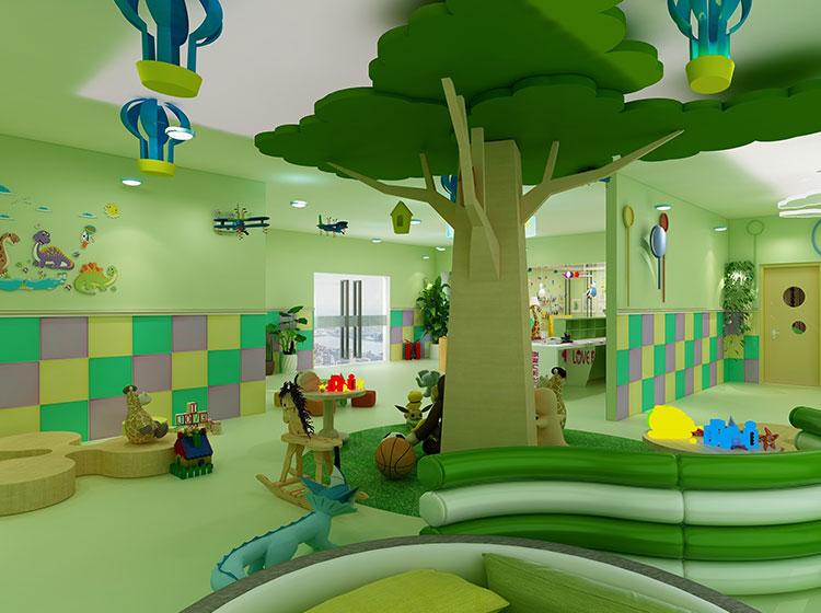 幼儿园皮雕整装工装案例