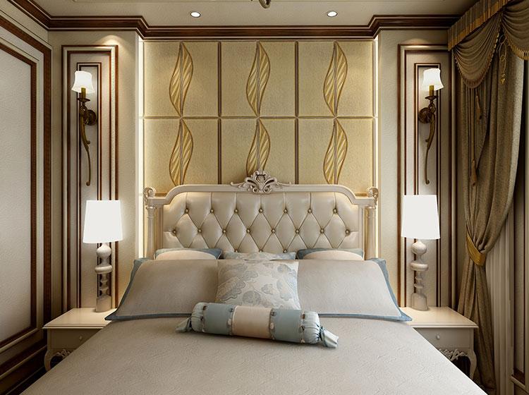 卧室皮雕软包全屋整装欧式风格