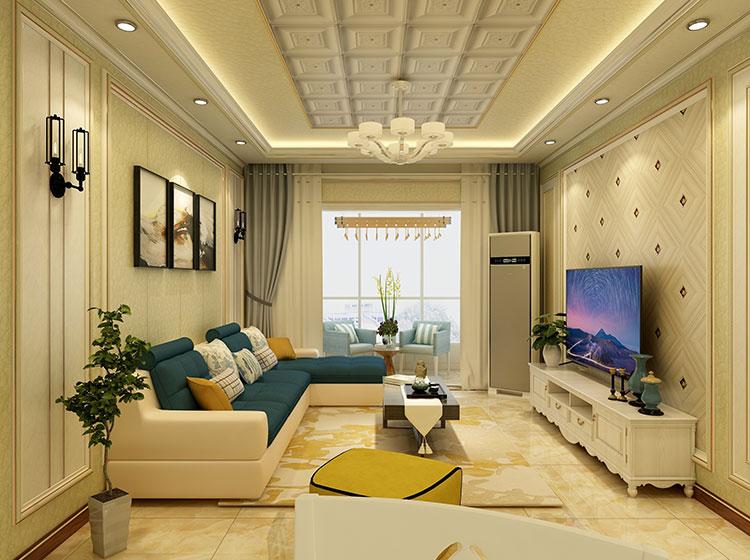 现代唯美风格皮雕软包全屋整装案例